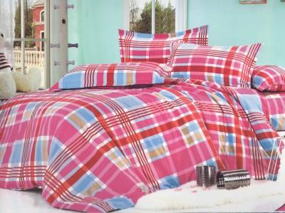 Skilin Checkered Double Dohar Multicolor