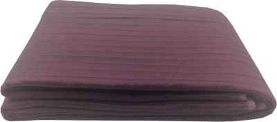 Milano Home Striped Single Quilts & Comforters Purple