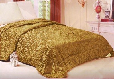 Welhouse Floral Single Quilts & Comforters Golden