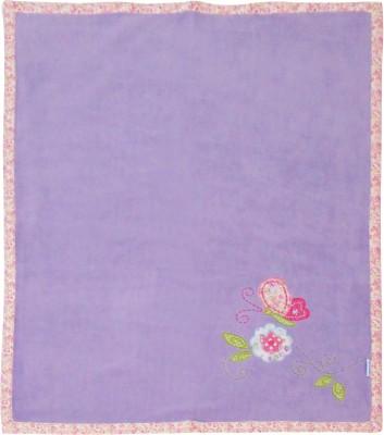 Abracadabra Embroidered Single Blanket Lavender