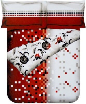 @home Floral, Abstract Single Quilts & Comforters Multicolor