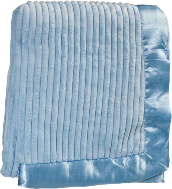 Mee Mee Plain Single Blanket Blue(Blanket)