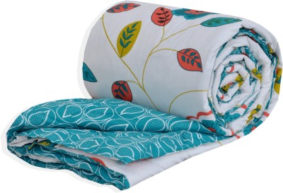 Salona Bichona Floral Double Quilts & Comforters White