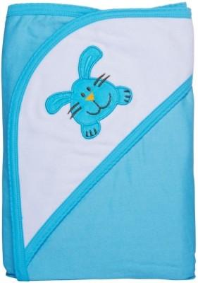 Manorath Plain Crib Blanket Turquoise