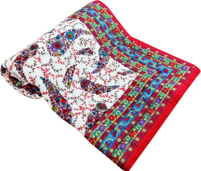 Artisan Creation Floral Single Quilts & Comforters Multicolor