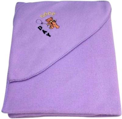 Baby Basics Plain Single Blanket Purple