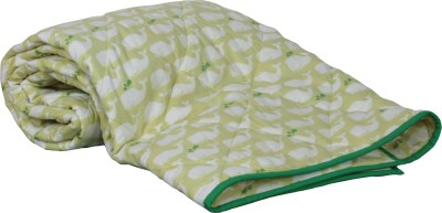 My Little Lambs Animal Crib Quilts & Comforters Lime Green