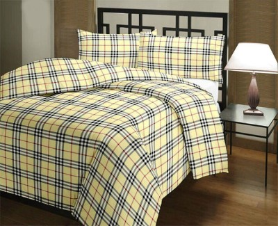 Fresh From Loom Checkered Double Top Sheet Multicolor