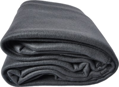 Kema Plain Single Blanket Grey
