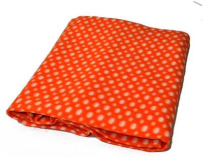 Divine Polka Single Blanket Orange
