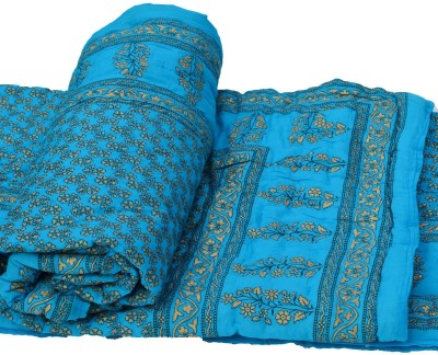 Ayushi Craft & Fashions Single Quilts & Comforters Blue