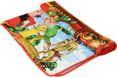 Shri Abha Emporium Cartoon Single Blanket Multicolor