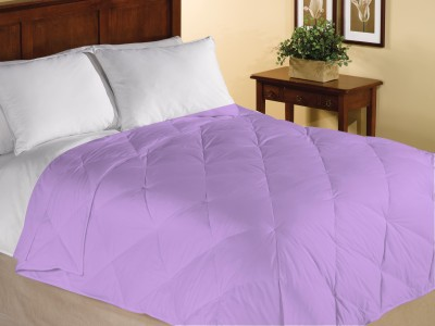 Home Bee USA Plain Single Quilts & Comforters Egg Plant