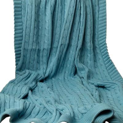 Pluchi Plain Single Quilts & Comforters Blue