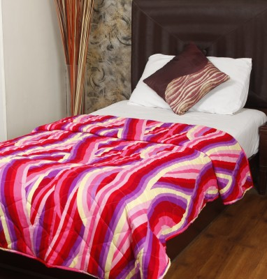 Omoroze Abstract Single Quilts & Comforters Multicolor