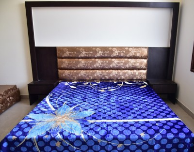 DHANI Printed Queen Blanket ROYAL BLUE