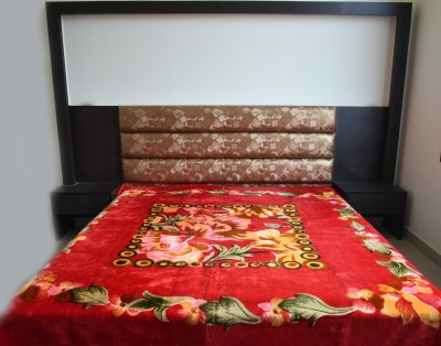 DHANI Printed Double Blanket Red