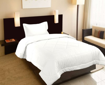 Raymond Home Abstract Single Quilts & Comforters White