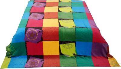 Welhouse Checkered Double Blanket Multicolor
