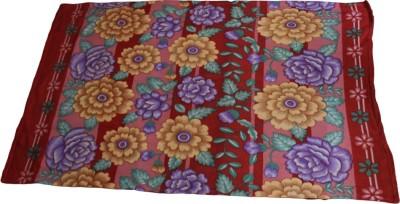 Majestic Floral Single Blanket Multicolor