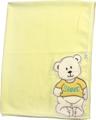 Offspring Plain Single Blanket Yellow