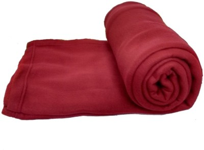 ExpressionsHome Checkered Double Blanket Maroon