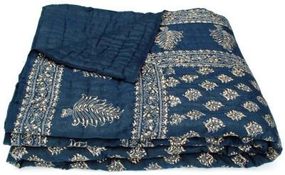 Silkworm Paisley Double Quilts & Comforters Blue