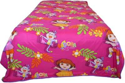 Indian Rack Printed Single Dohar Pink