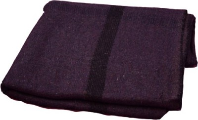 Magical Checkered Single Blanket Purple