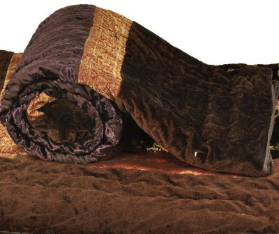 Bagrastore Floral Single Quilts & Comforters Brown