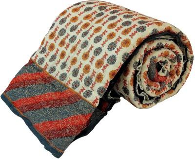 Kiran Udyog Floral Single Quilts & Comforters Multicolor
