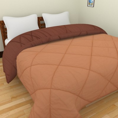 Cotton Treat Plain King Quilts & Comforters Brown, Dark Brown