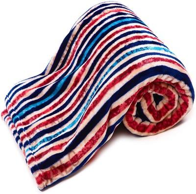 Casa Confort Striped Single Blanket Multicolor