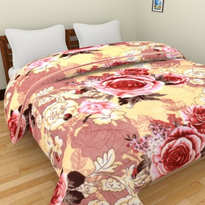 Spangle Printed Double Blanket, Top Sheet Multicolor