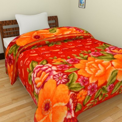 Spangle Abstract Double Blanket Multicolor
