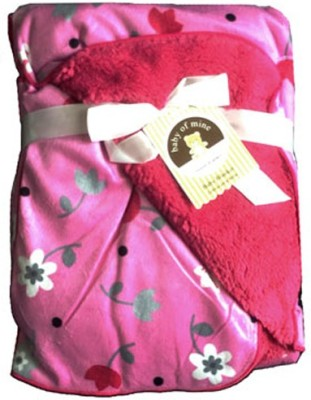 Carter Floral Single Blanket Pink