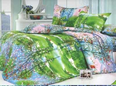 Skilin Abstract Double Dohar Multicolor