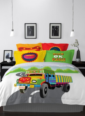 Spaces by Welspun Cartoon Double Quilts & Comforters Multicolor