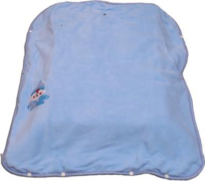 Ktm Home Boutique Plain Single Blanket Blue