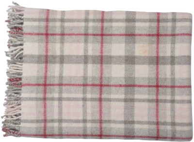 Home Boutique Checkered Single Throw Red, White