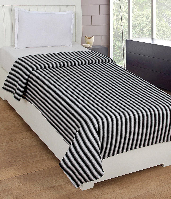 D&D Striped Single Blanket Multicolor(1 Blanket)