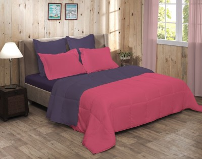 Raymond Home Abstract Double Quilts & Comforters Pink