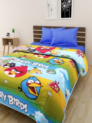 The Home Story Cartoon Queen Quilts & Comforters Multicolor