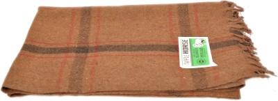 Brndey Checkered Single Top Sheet Brown