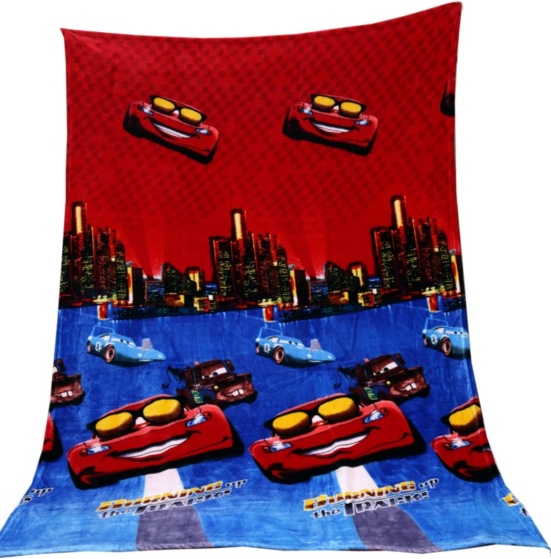 Tima Cartoon Single Blanket Red(AC Blanket, 1 Blanket)