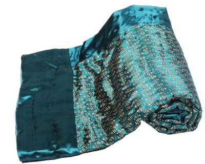 Jaipurtextilehub Floral Single Quilts & Comforters Green