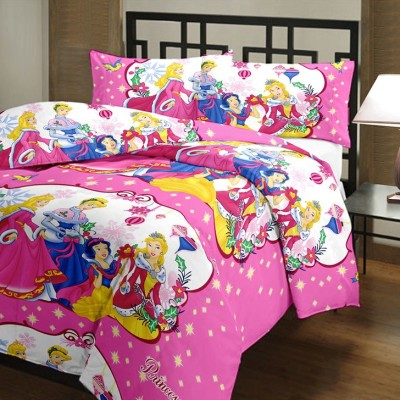 Blanket Zone Cartoon Single Dohar Multicolor