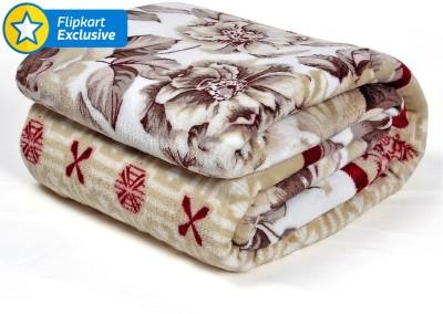 Cortina Floral Single Blanket Multicolou...