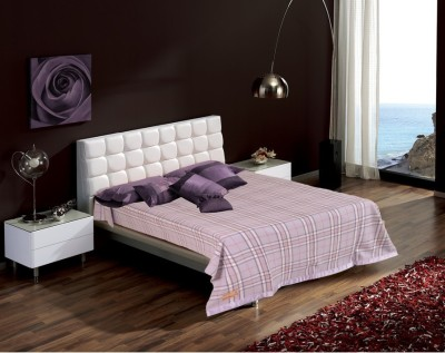Raymond Home Checkered Single Blanket Purple