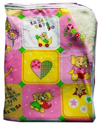 babanbaby Printed Single Blanket Pink